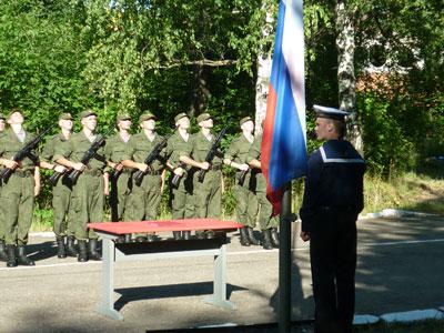 На присяге в гарнизоне Остафьево