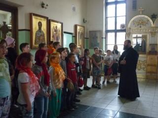 Детский юношеский центр в гостях у Елисаветинского храма