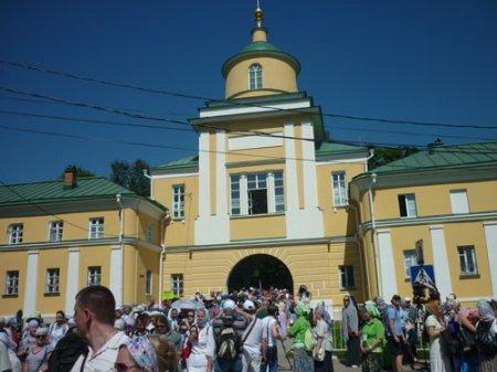 Участие в Крестном ходе в честь 700-летия Прп.Сергия Радонежского