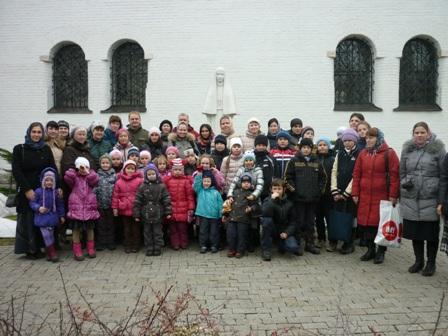 Паломническая поездка детей Воскресной школы в Марфо-Мариинскую обитель
