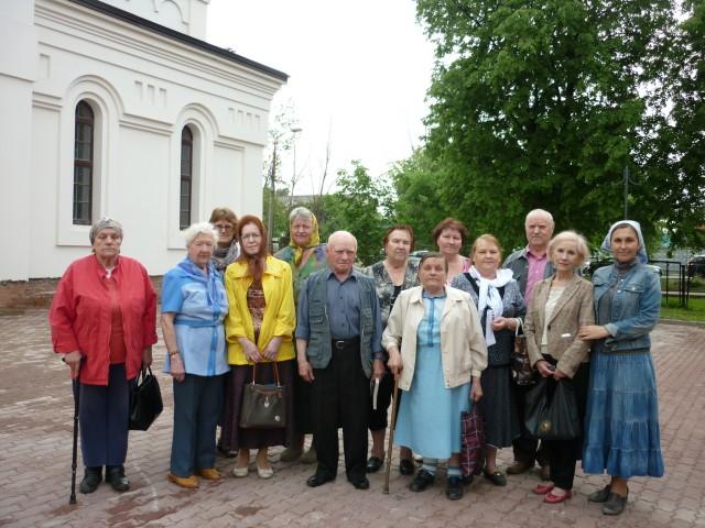 Социальная служба храма провела встречу с обществом инвалидов