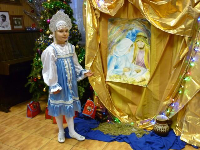 Праздник Рождества Христова в Воскресной школе Елисаветинского храма