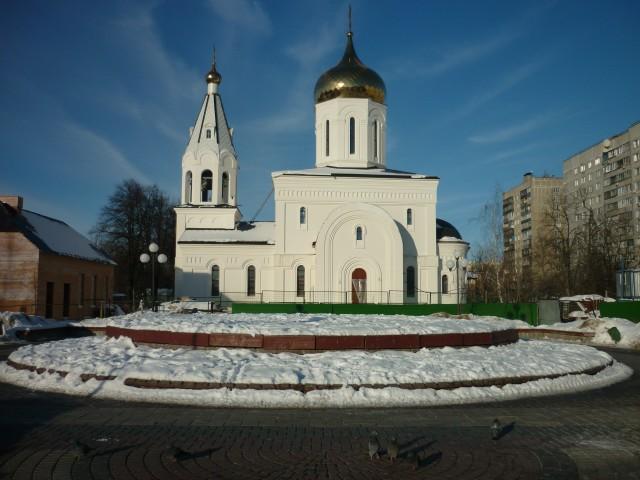 Новый храм сегодня