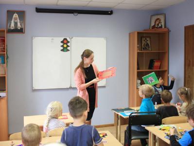 Творческий урок в младшей группе Воскресной школы (фото)