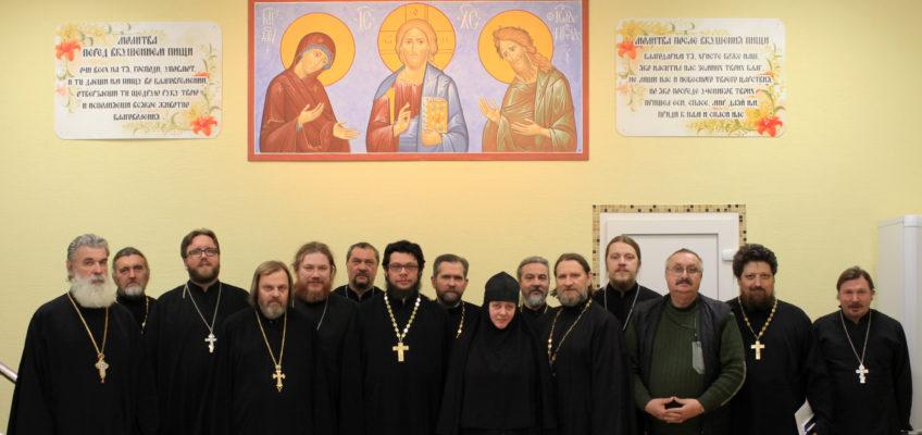 Собрание духовенства и редакторов приходских сайтов Никольского благочиния
