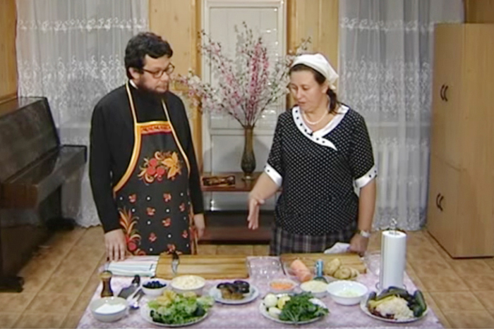 Кулинарное паломничество. Готовим грибной суп в храме преподобномученицы Елисаветы в Щербинке