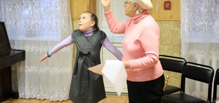 Репетиции Рождественского спектакля