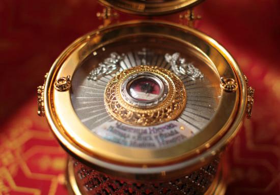 Во Всецарицынский храм прибудет Ковчег с частицей Хитона Господня