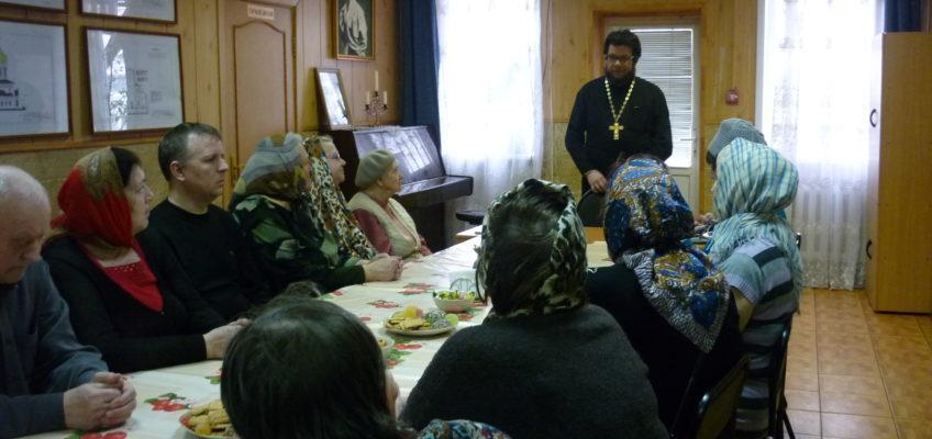 Щербинское общество инвалидов в Елисаветинском храме