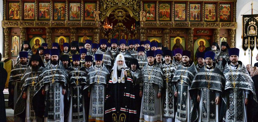 Иерей Сергий Чистяков удостоен права ношения наперсного креста