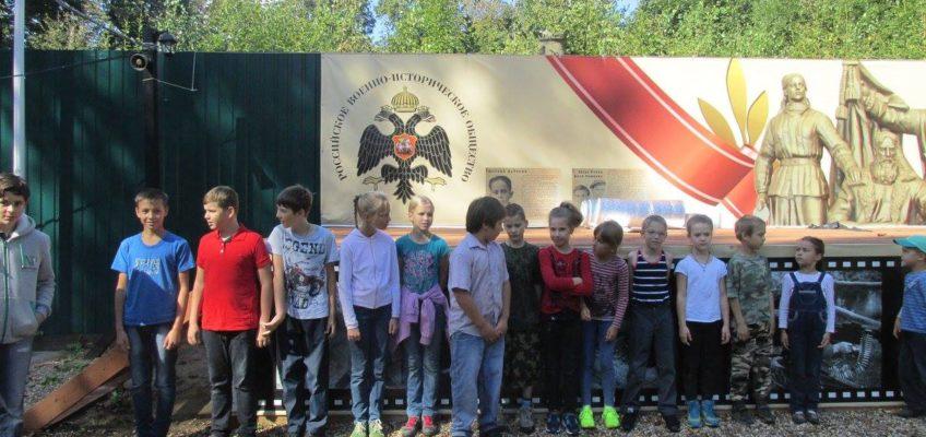 Учащиеся Воскресной школы посетили Военно-исторический лагерь в Филимонках