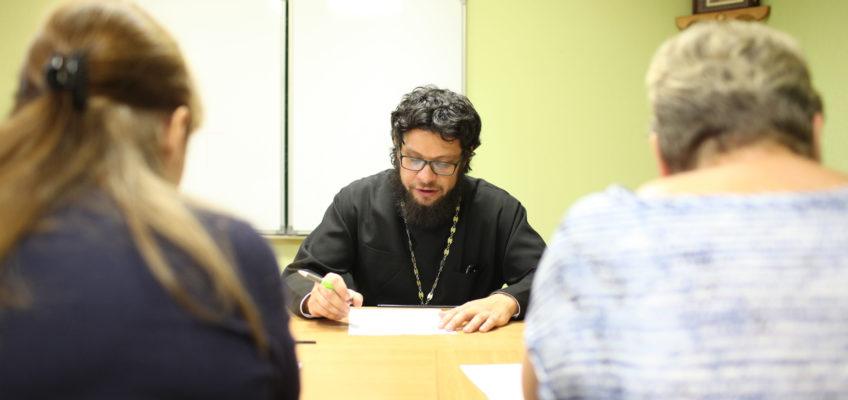 Заседание педагогического совета Духовно-просветительских курсов