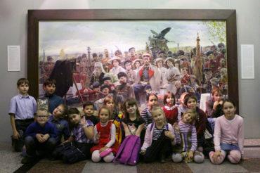 День памяти прп. Сергия Радонежского в Воскресной школе