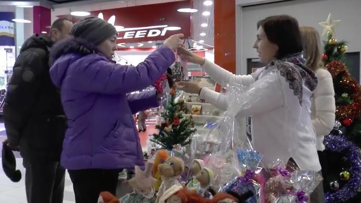 Открытие благотворительного Рождественского базара