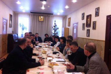 Подготовка к празднику Крещения Господня в Щербинке