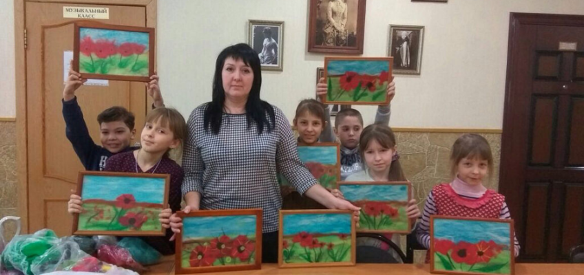 Урок рукоделия в Воскресной школе. «Цветочное поле»