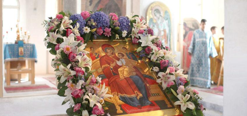 Приглашаем на молебен о страждущих перед иконой  Божией Матери «Всецарица»