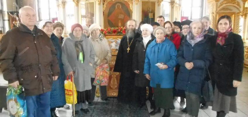 Литургия для членов Щербинского общества инвалидов