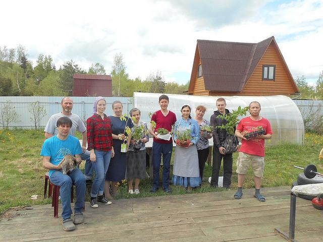 Волонтерская поездка в реабилитационный центр
