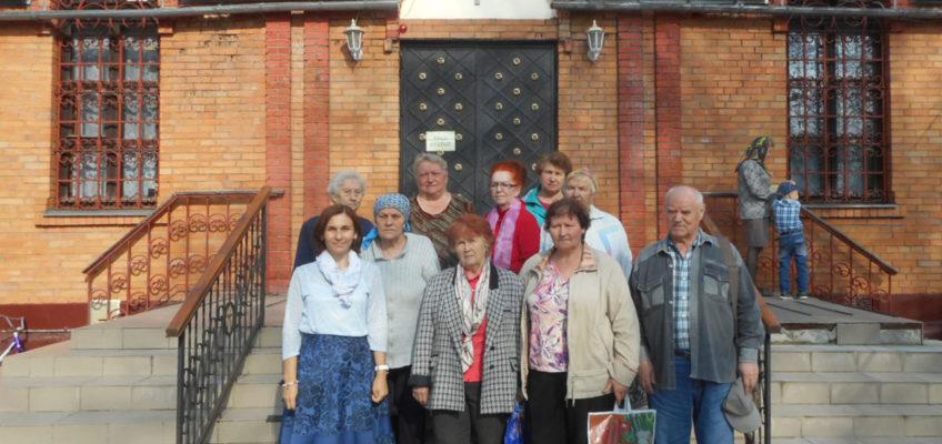 Социальная служба храма провела встречу с Щербинским обществом инвалидов