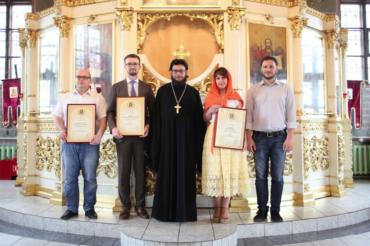 Вручение Архиерейских грамот в храме в честь иконы Божией Матери «Всецарица»