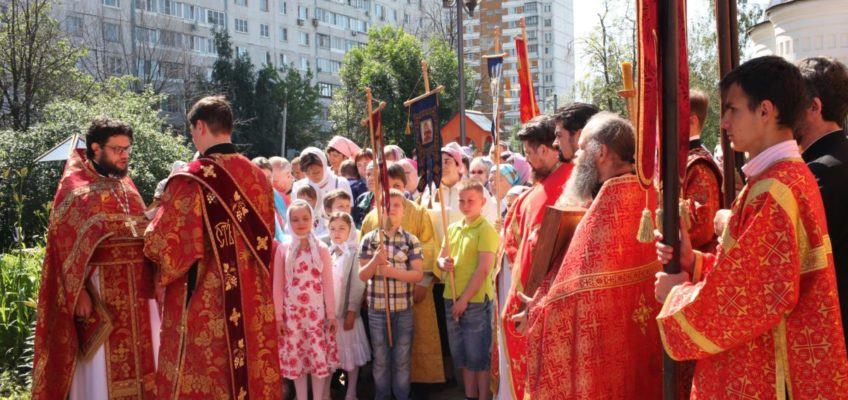 Престольный праздник в храме в честь Святой преподобномученицы Великой княгини Елисаветы в Щербинке