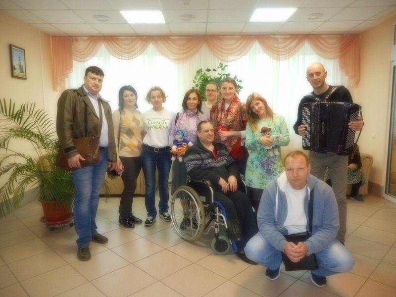 Добровольцы в Климовске