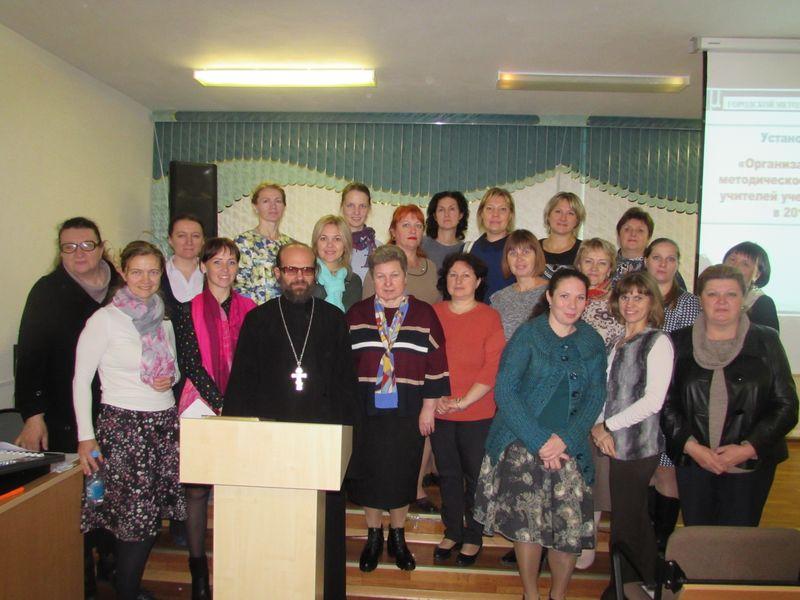 Начало работы Совета общественных методистов Никольского благочиния в 2017-2018 учебном году