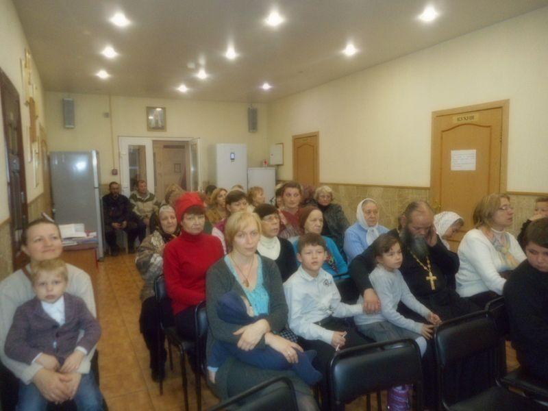 Приходская встреча: «Воспоминания о паломнической поездке в Екатеринбург — Алапаевск – Верхотурье»