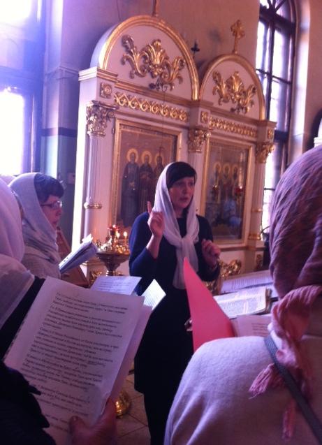 Божественная Литургия с участием народного хора