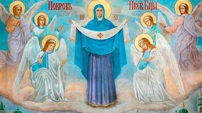Святой Покров Пресвятой Владычицы нашей Богородицы