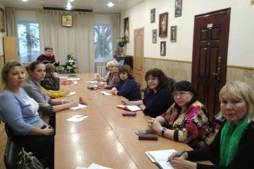 Семинар педагогов  по Основам религиозных культур и светской этики в Никольском церковном округе