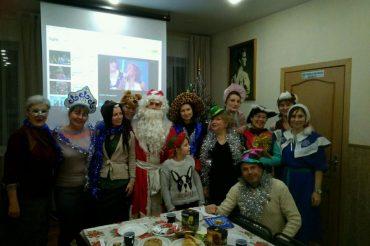 Рождественская встреча добровольцев храма