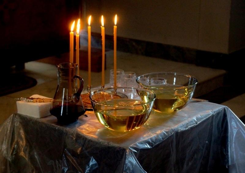ТАИНСТВО ЕЛЕОСВЯЩЕНИЯ (ОБЩЕЕ СОБОРОВАНИЕ) в Елисаветинском храме БУДЕТ СОВЕРШАТЬСЯ: