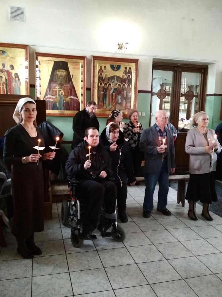 Соборование инвалидов