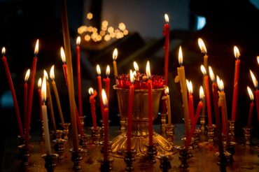 Благодарственный молебен в честь Победы в Великой Отечественной войне