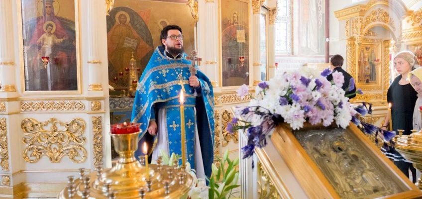 27 октября Божественную Литургию возглавит Настоятель протоиерей Александр Балглей