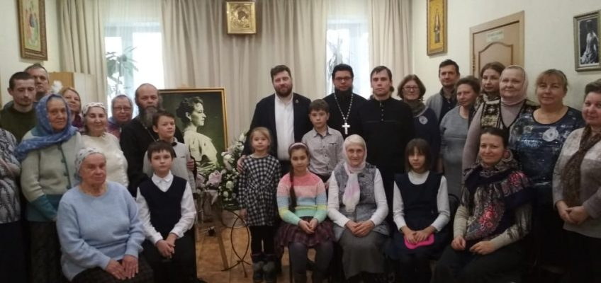 'Елизаветинские чтения' Встреча с Григорием Маневичем и  Петром Мультатули