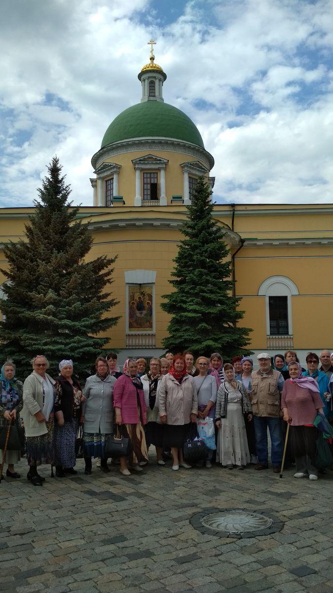Поездка в Данилов монастырь