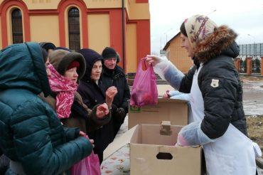 Рождественская трапеза для бездомных