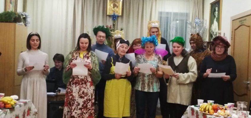 Святочный вечер у группы «Милосердие» и «Семейного клуба трезвости»
