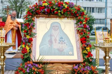 Престольный праздник в честь мученической кончины святой преподобномученицы Великой княгини  Елисаветы