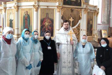 Благодарность всем помощникам в праздник Крещения Господня!