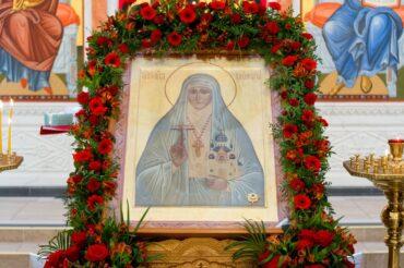 Престольный праздник в честь мученической кончины святой прмц. Великой княгини Елисаветы