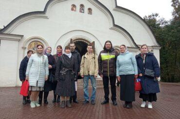 Божественная литургия в храме Новомучеников и исповедников Российских на Бутовском полигоне